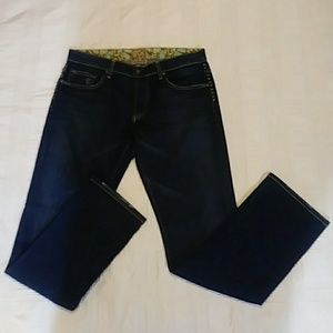 Rich & Skinny Riveted Jeans